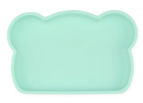 Bear Silicone Plate . Mint