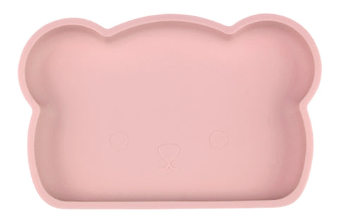 Bear Silicone Plate . Ash Pink (Limited)