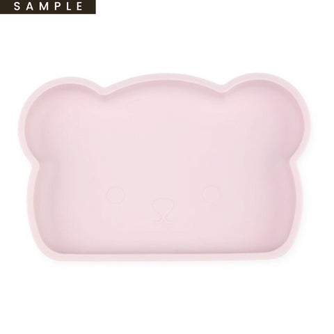 Bear Silicone Plate . Pink (SAMPLE)