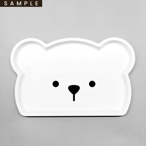 DADDY . Bear Tray (SAMPLE)