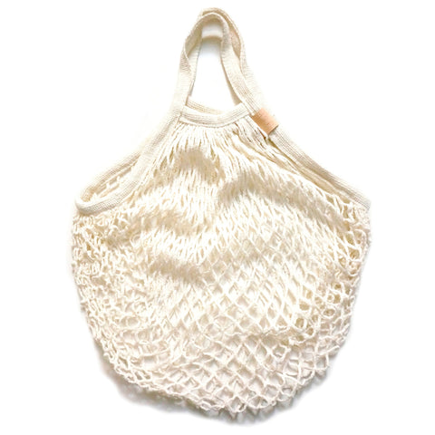 Net Bag . Beige