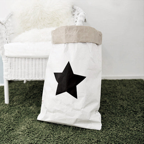 Big Star Paper Storage Bag