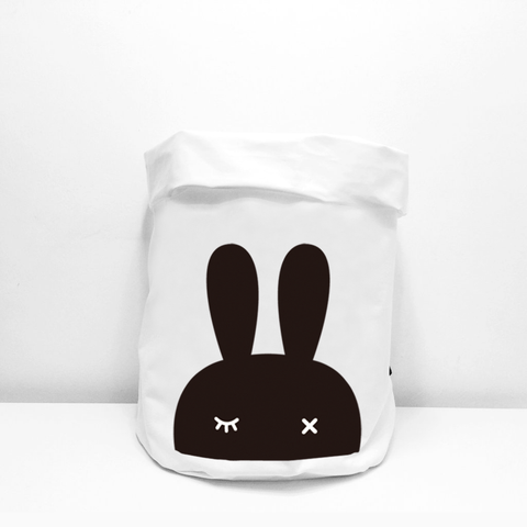 Fabric Storage Bag . Bunny