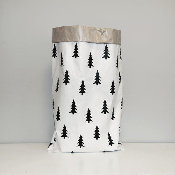 Christmas Tree Paper Storage Bag