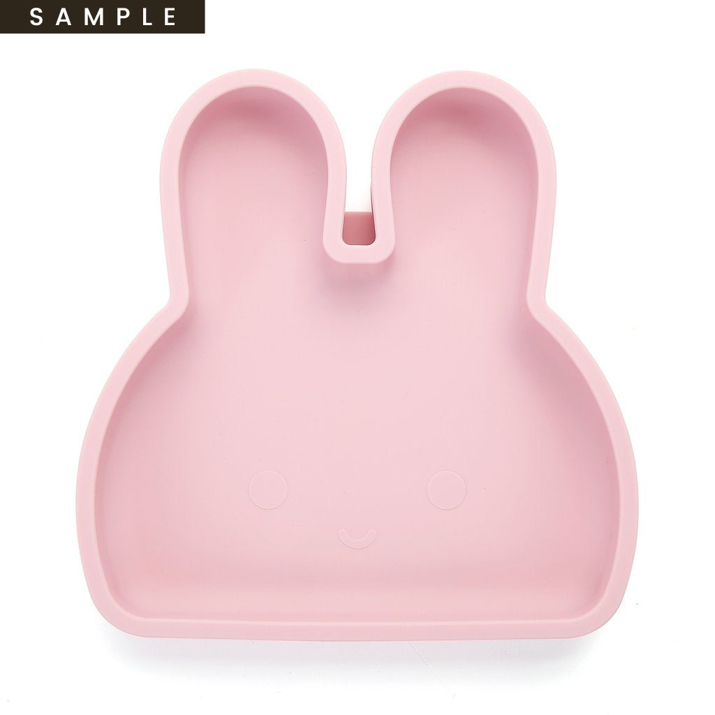 Bunny Silicone Plate . Pale Dogwood (SAMPLE)
