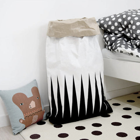 Triangle Paper Storage Bag