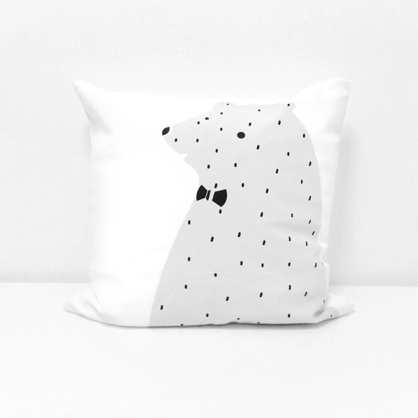 Snow Bear Cushion Cover