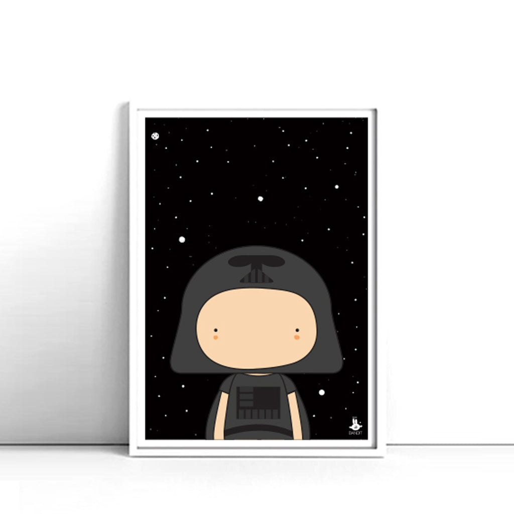 Little Darth . Print