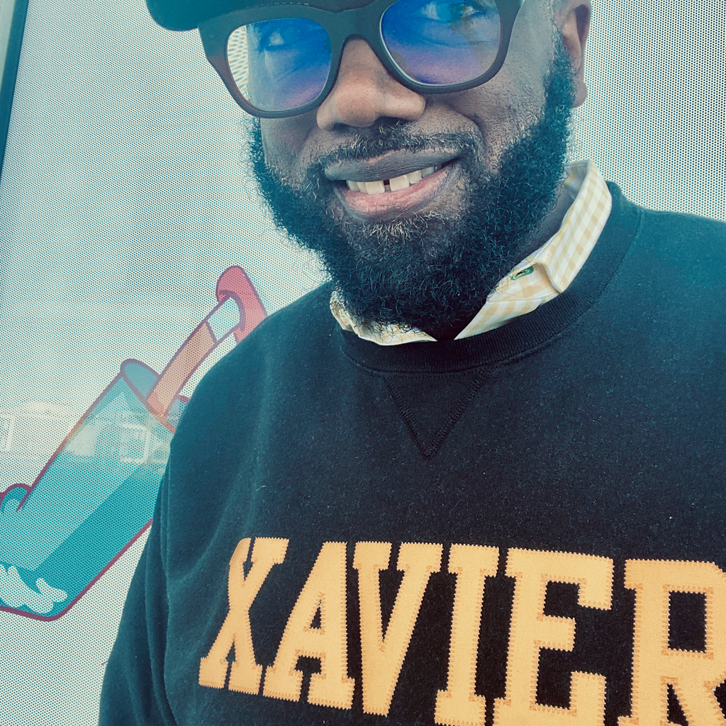 Xavier Applique Crewneck