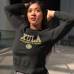 XU Kente Seal Crewneck