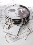 Decorative porcelain plate - Nine beats of memory 4