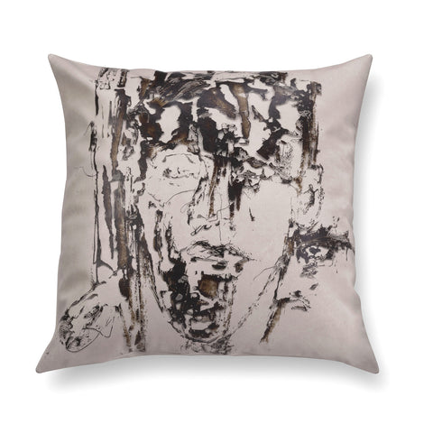 Decorative contemporary pillow - Reflections 2