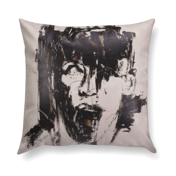 Decorative contemporary pillow - Reflections 3
