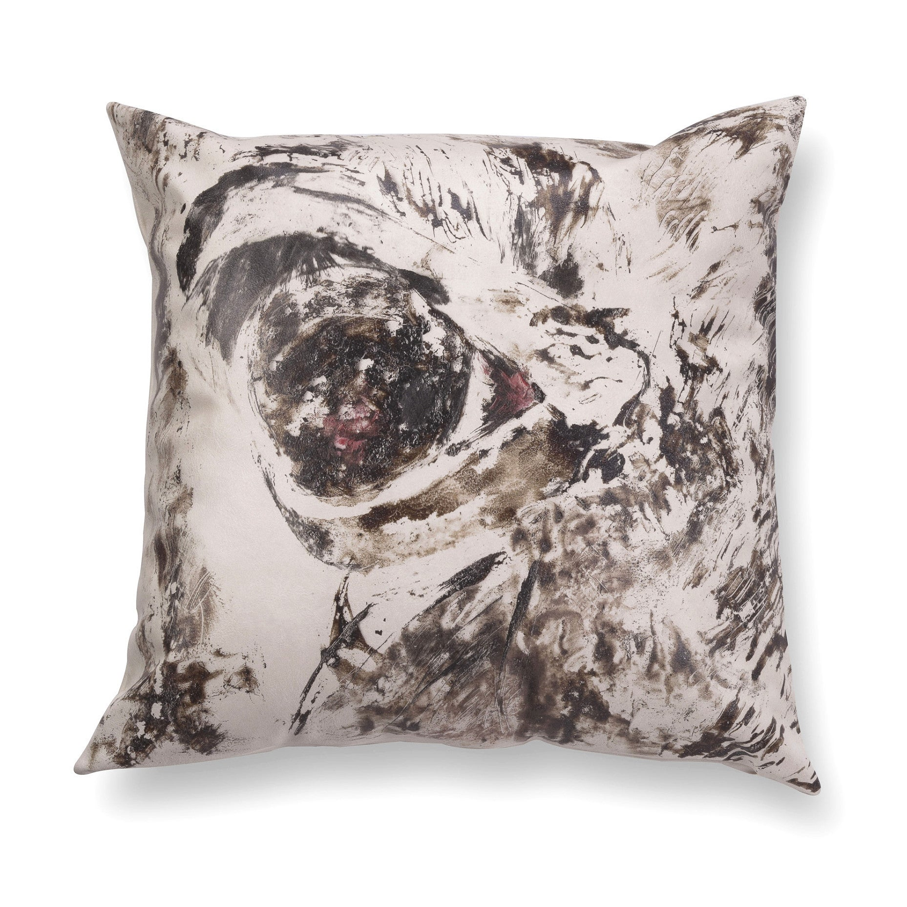 Illustrated contemporary pillow - Gaze 3