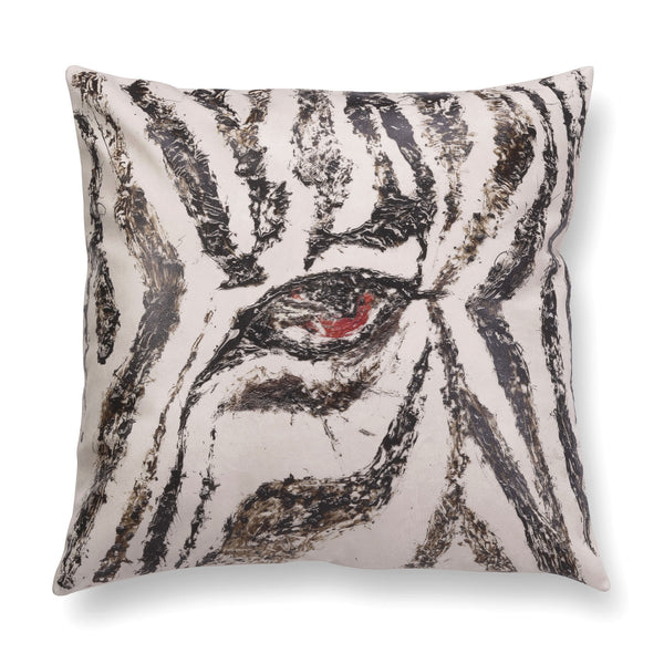 Illustrated contemporary pillow - Gaze 5