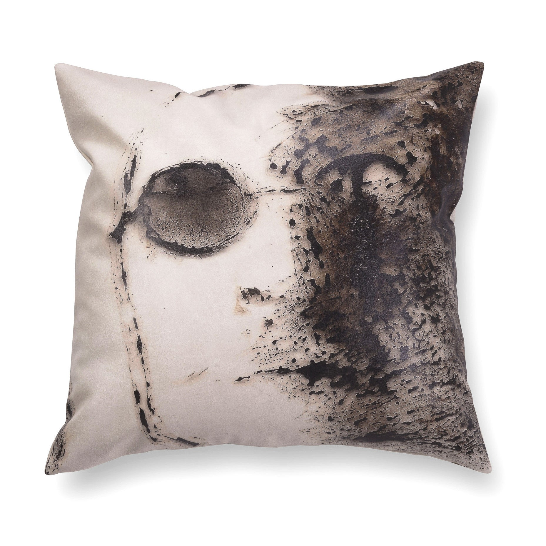 Decorative contemporary pillow - Nine beats of memory 5