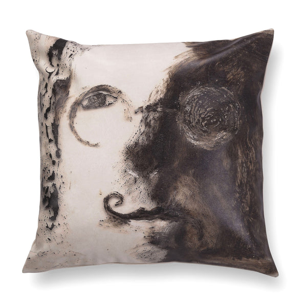 Decorative contemporary pillow - Nine beats of memory 3