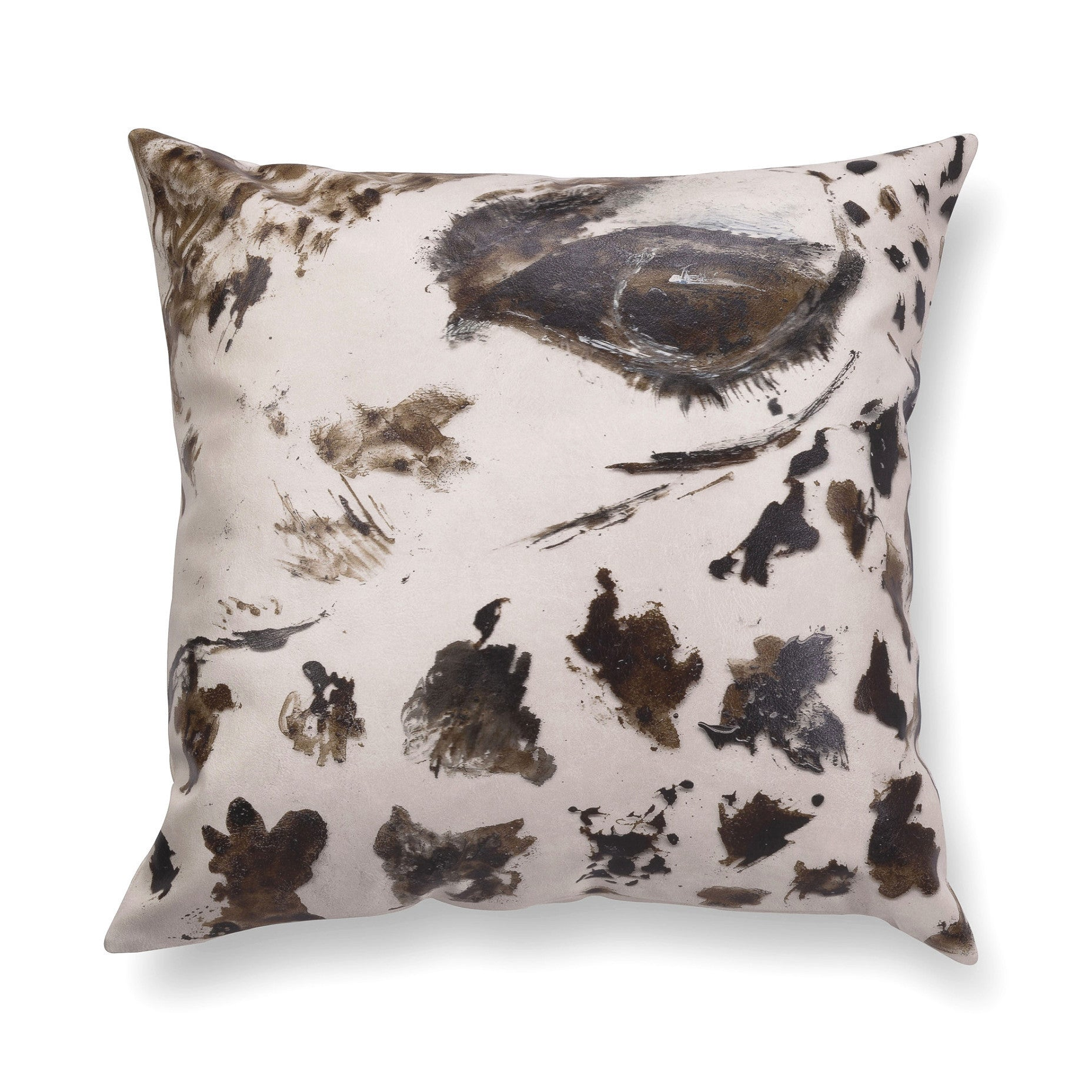 Illustrated contemporary pillow - Gaze 4