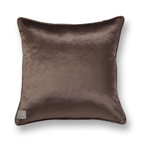 Velvet throw pillow - Big girl 2
