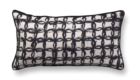 Fine rectangle accent pillow - Encounters 8