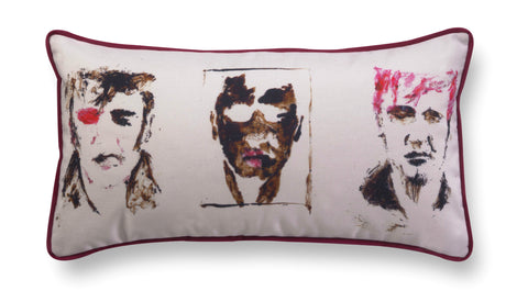 Decorative rectangle pillow - Love me tender