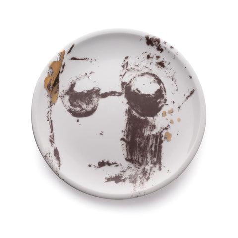 Decorative porcelain plate - Nine beats of memory 2