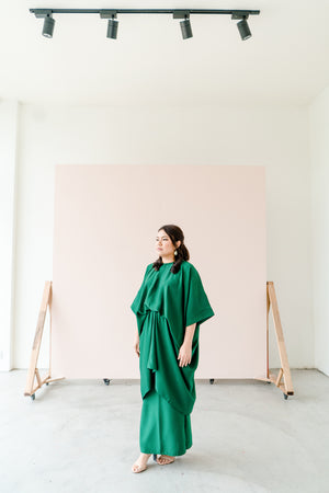 Kirana in Emerald Green