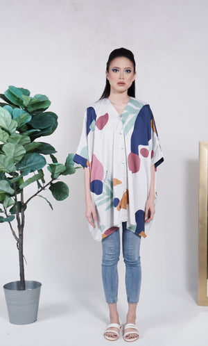 Elly Batwing Top