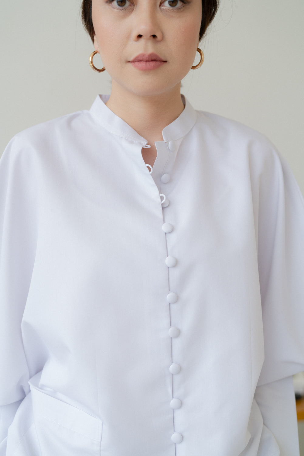 LIV Blouse in White