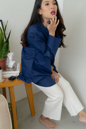 IVY Blouse in Blue