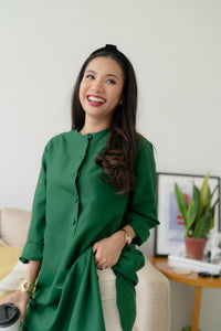 IVY Blouse in Green