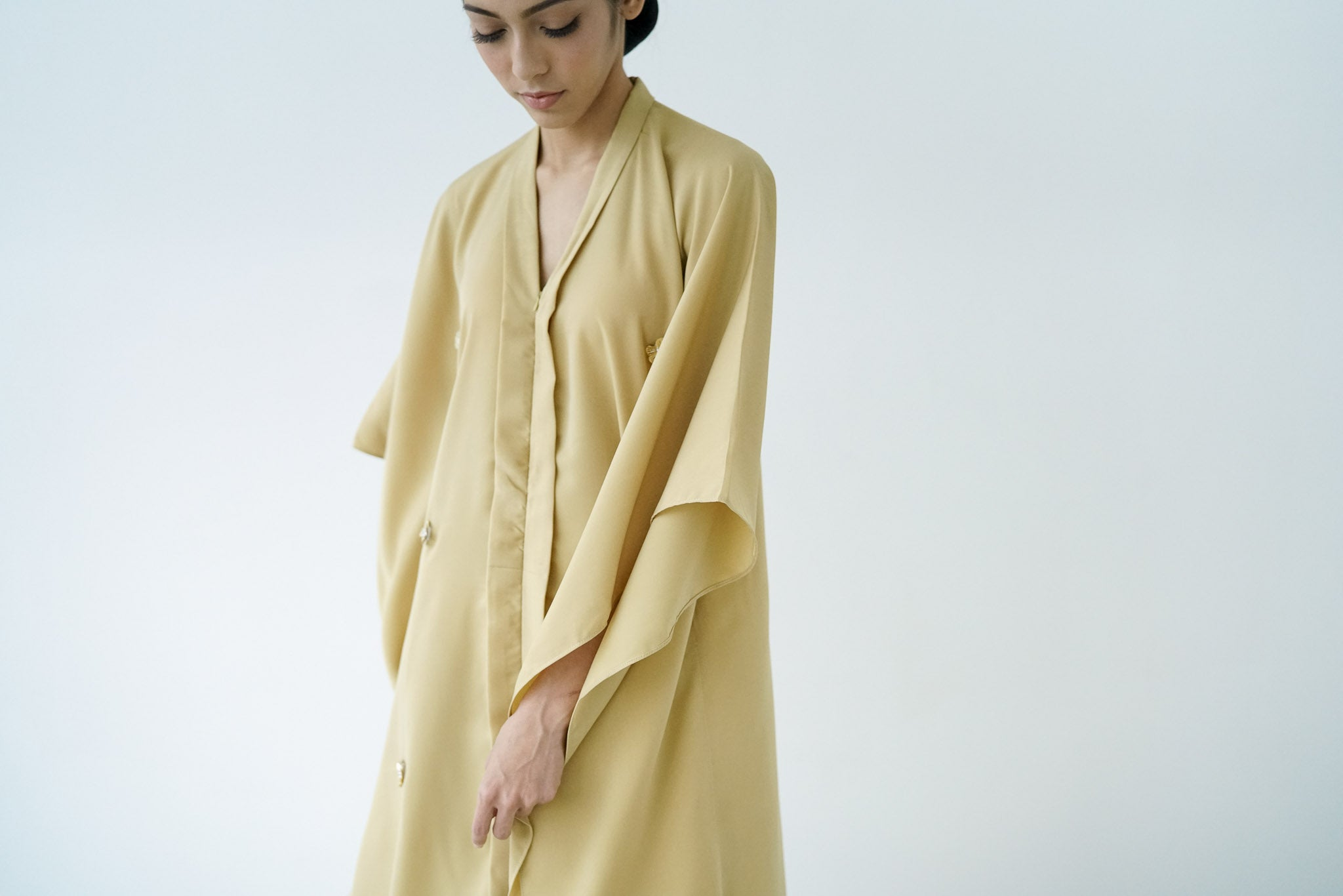 Kafaya in PASTEL OLIVE GREEN