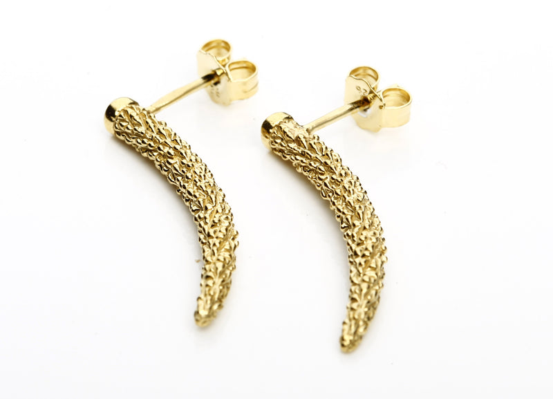 Earrings Horn Bolitas