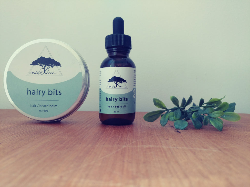 Hairy Bits Combo Pack (Oil + Balm)
