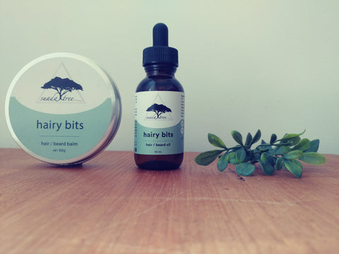 Image of Hairy Bits Combo Pack (Oil + Balm)