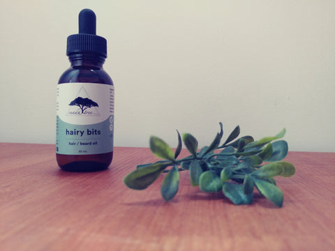 Image of Hairy Bits (Hair/Beard Oil) 50mL