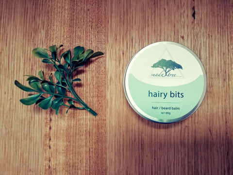 Hairy Bits (Hair/Beard Balm) 60g