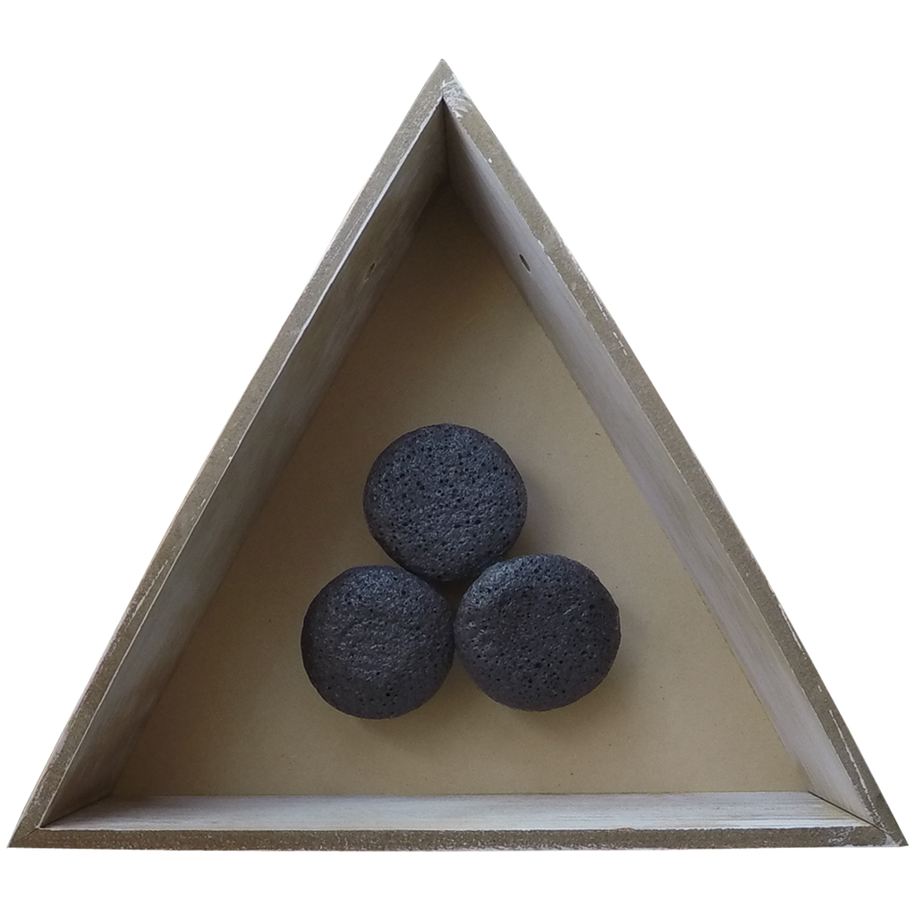 Smooth Skin (Konjac Sponge) with Bamboo Charcoal
