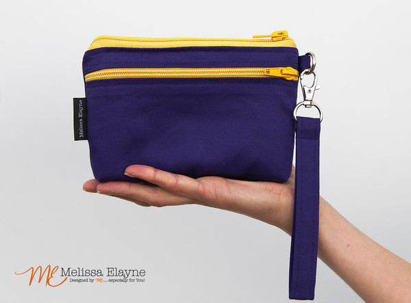 "Small Stadium Wristlet, 4.5"" x 6.5"" Clutch"