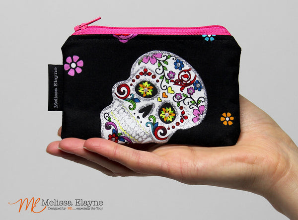 Change Purse, Zippered Coin Pouch
