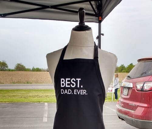Fathers Day, BBQ Apron for Him - Melissa Elayne