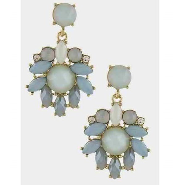 Floral Drop Earrings
