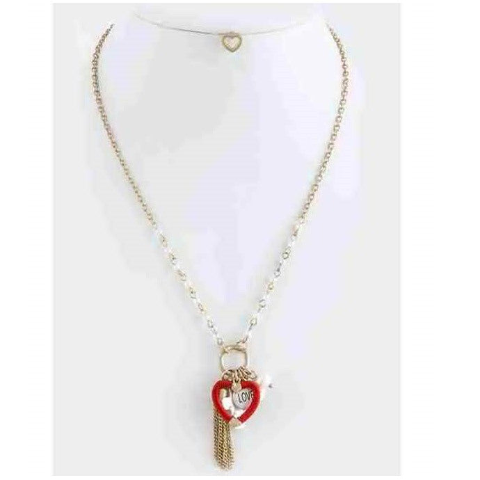 Valentines Necklace Set