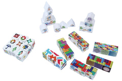 SMARTY GENES Wooden blocks Omni GENEius