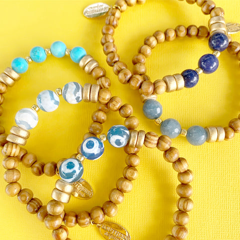 "The ""Jess"" Bracelet - Blues"