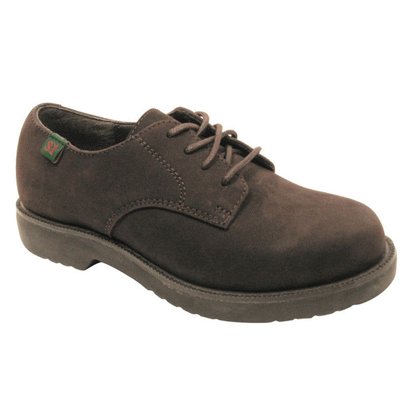 Semester Boy's Brown Nubuc Leather Oxford