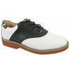 Upper Class Ladies Black/White Saddle Oxfords