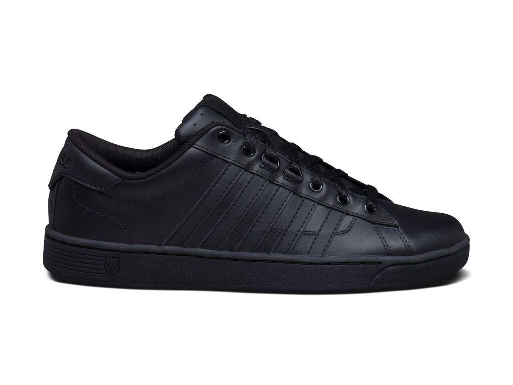Hoke CMF Men's Black Leather Athletic Tennis Shoe