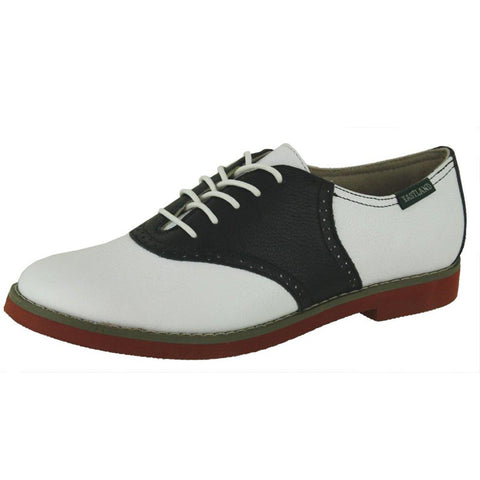 Varsity Ladies B/W Saddle Oxford