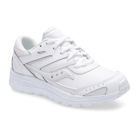New Balance-Children's White Tie